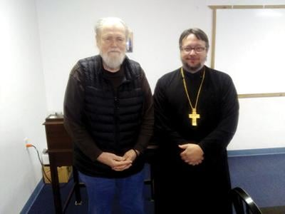 Visiting priest sees similarity between AA 12 step program and writings of Church Fathers