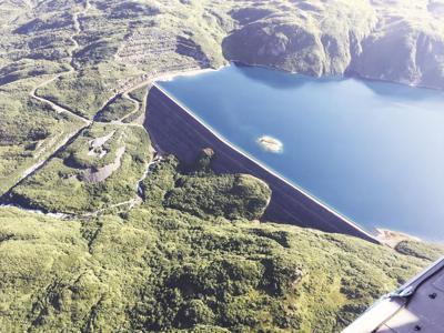 Terror Lake dam
