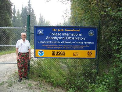 Alaska Science Forum: Jack Townshend's personification of serendipity