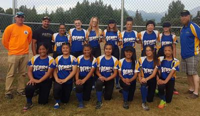 Kodiak Little League junior softball all-star team