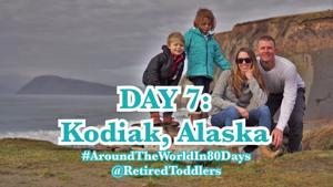 Day 7 Kodiak Alaska with Kids via Holland America Cruise // Westerdam