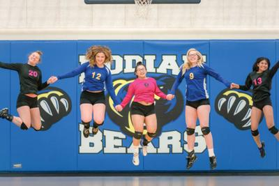 Kodiak High School volleyball seniors