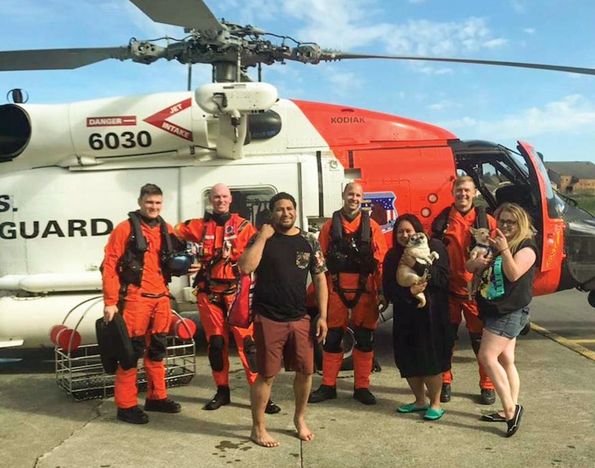 Flamingo riders rescued from Monashka Bay