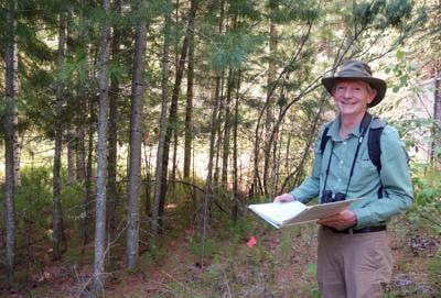 Visit to an exotic tree plantation in Alaska