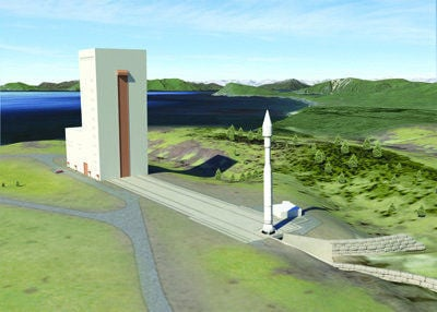 Florida firm flies ahead with designs for new Kodiak launch pad