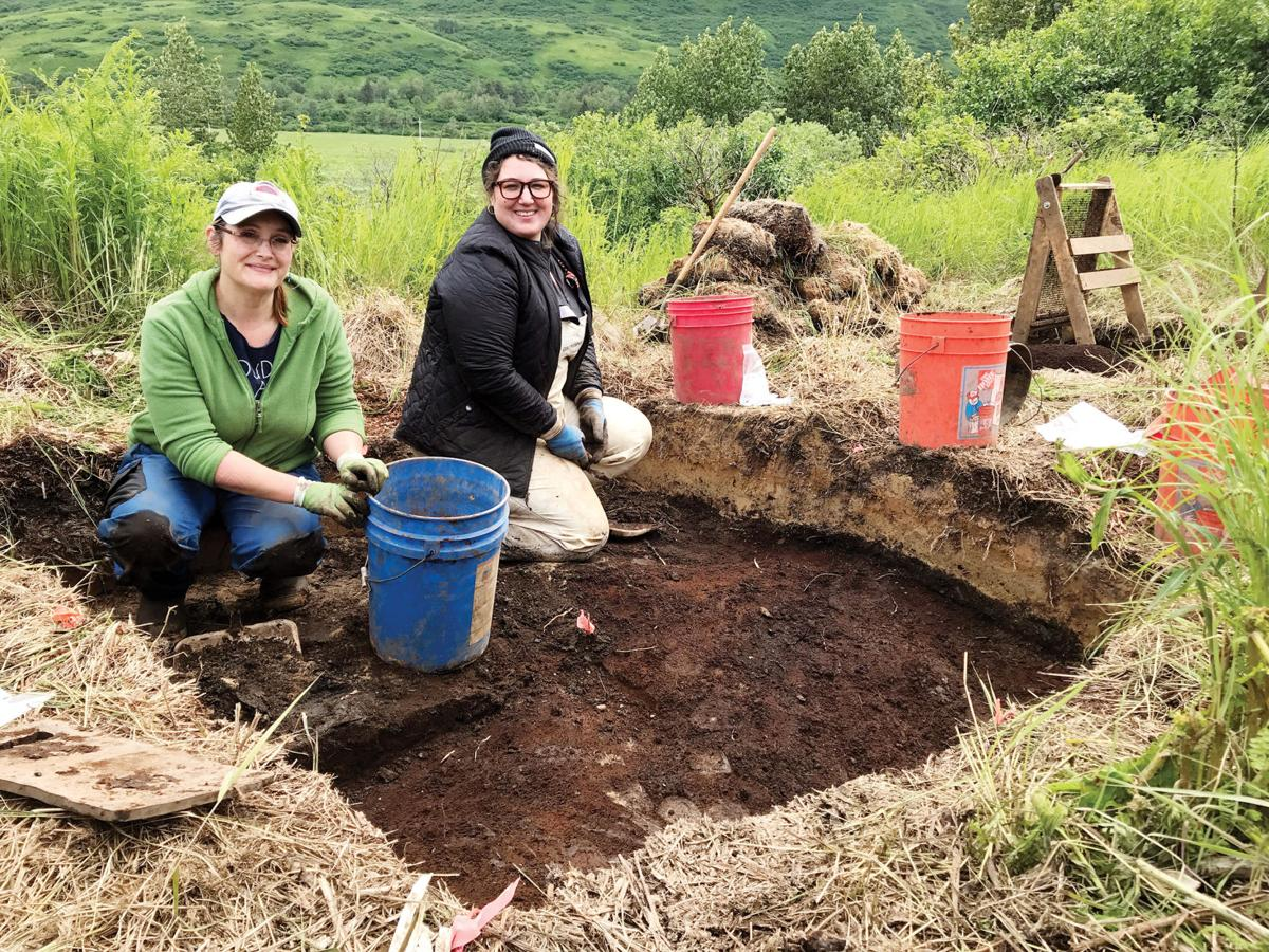 Archaeologists uncover site of ancient Alutiiq summer home