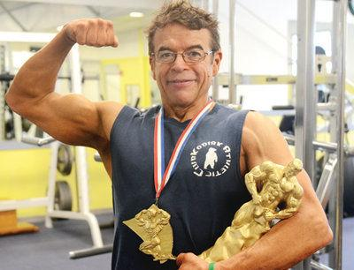 Knight collects state bodybuilding awards