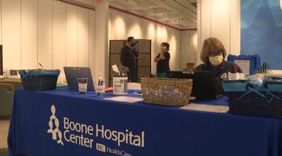 Boone Health vaccination clinic