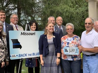 Back the Blue new license plate comes to Missouri