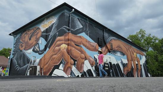 Blind Boone mural