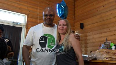 Robert Franklin and Christina Frommer of the Canna Convict Project