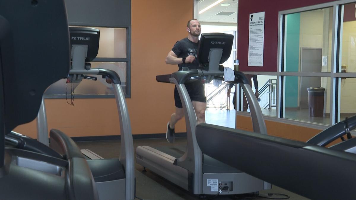 Matt Chinn ran more than 560 miles in the month of February