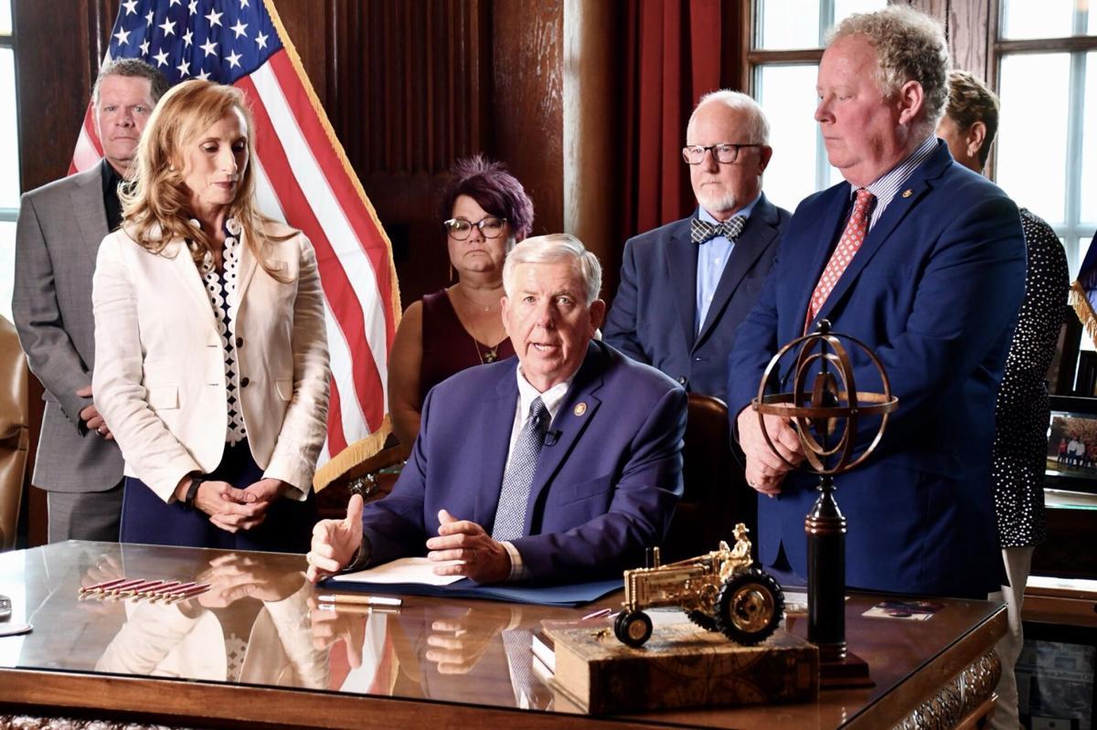 Governor Parson signs Senate Bill 63