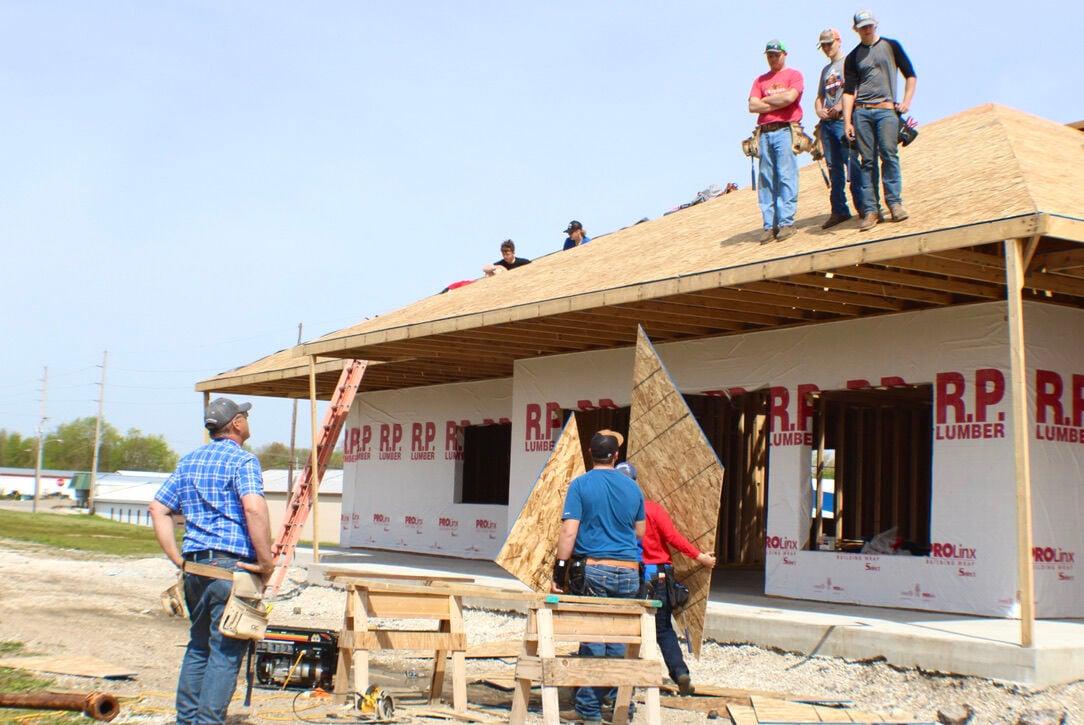 Rock Island Depot Construction