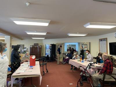 Solstice residents receive vaccine