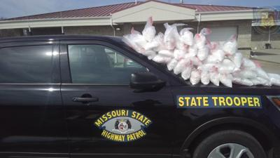 MSHP traffic stop turned drug bust in Saline County