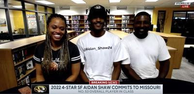 Aidan Shaw commits to Mizzou MBB