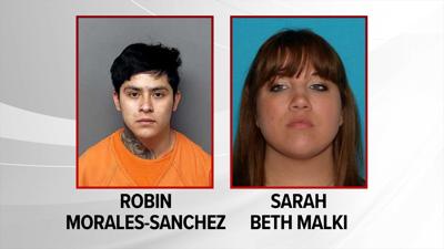 Robin Morales-Sanchez & Sarah Beth Malki