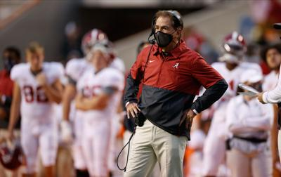 Alabama's Nick Saban tests positive for Covid-19 and is displaying symptoms