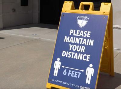 Please Maintain Distance
