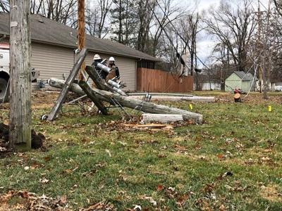 Centralia residents without power