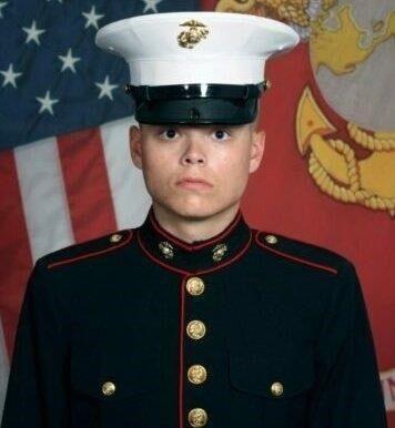 U.S. Marine Lance Cpl. Jared Schmitz