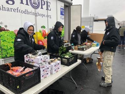 Winter weather causes decrease at The Food Bank