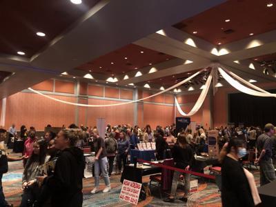 Expo draws crowd