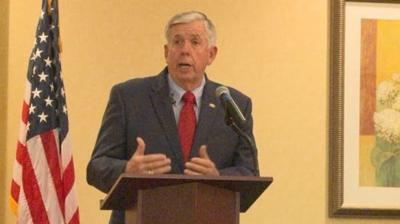 Governor St Louis leaders meet amid gun violence concerns
