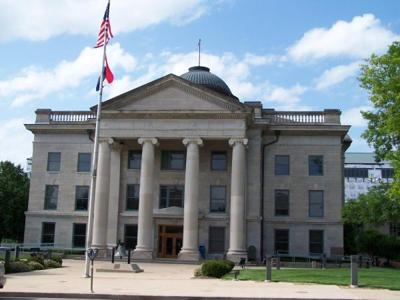 Boone County Courthouse hit by vandalism