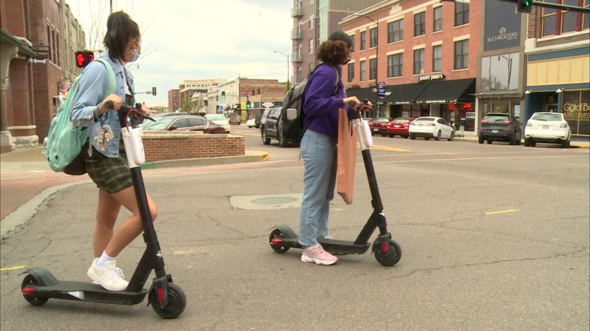 Bird Scooters' return to Columbia