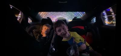 Drive-thru lights