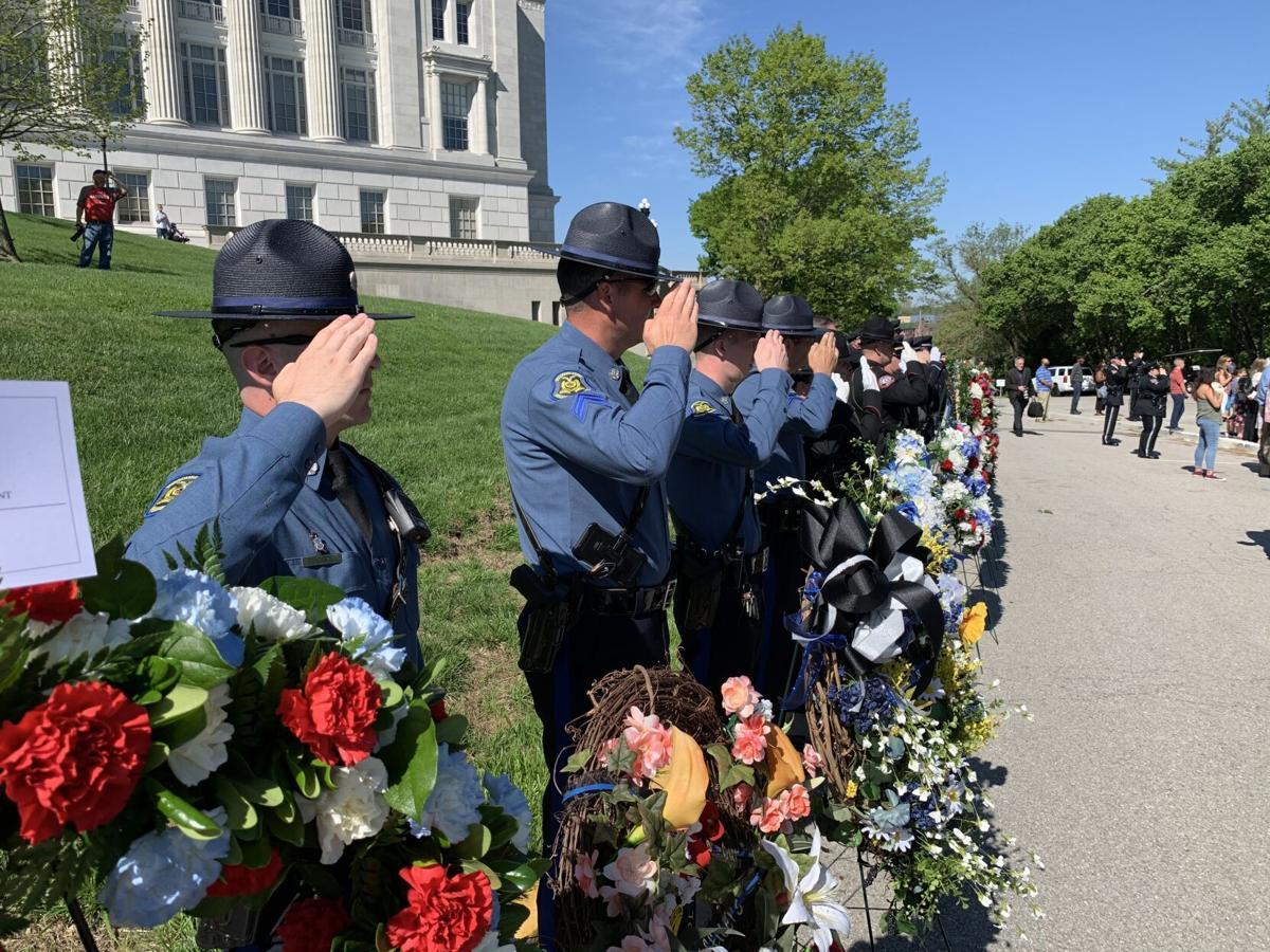 Troopers attend law enforcement memorial service