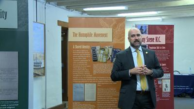 Sen. Razer urges lawmakers, public to visit LGBTQ exhibit after its removal and relocation