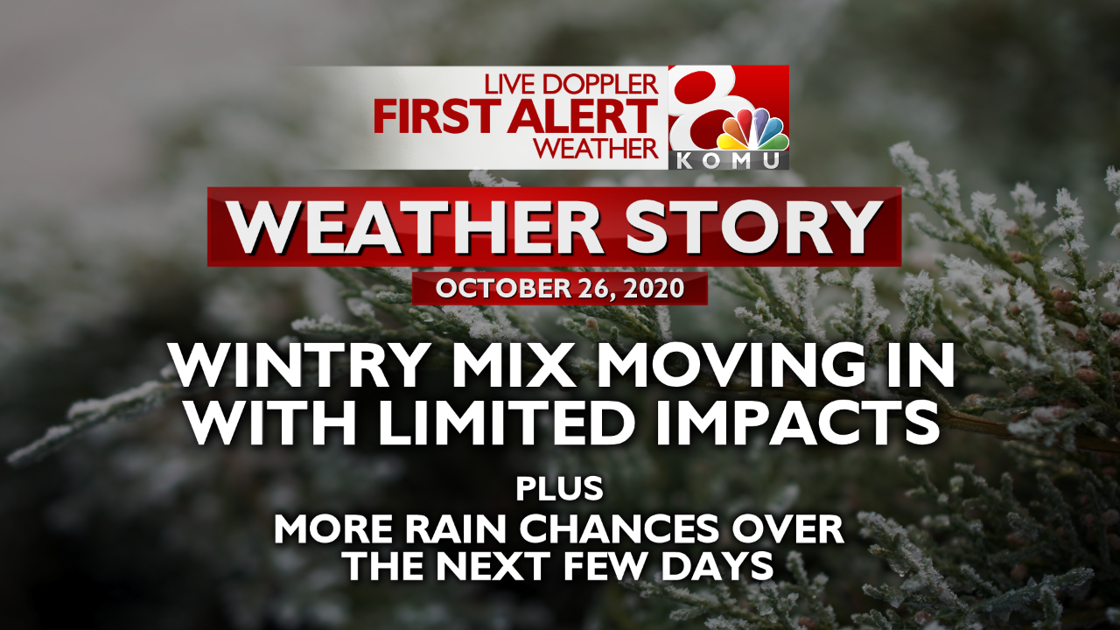 Forecast: wintry weather to continue through Monday and into Tuesday morning | Weather | komu.com