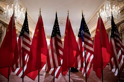 DO NOT USE - Beijing accuses US of treating China as 'imaginary enemy' in meeting between top diplomats