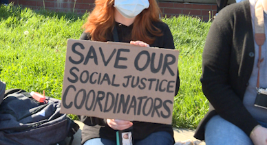MU's social justice coordinators will be out in department shakeup; students protest