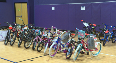 Voluntary Action Center distributes donations to families in need
