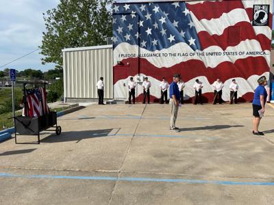 Post 5 hosts flag retirement ceremony on Flag Day