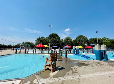 Memorial Park Family Aquatic Center in Jefferson City
