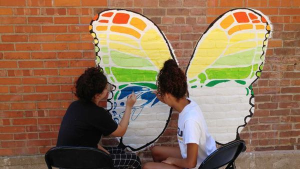 Local organization hopes new murals will spread kindness