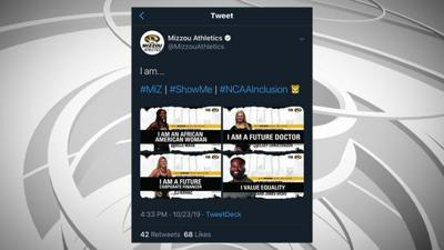 Mizzou Athletics apologizes for controversial tweet attempting to promote diversity