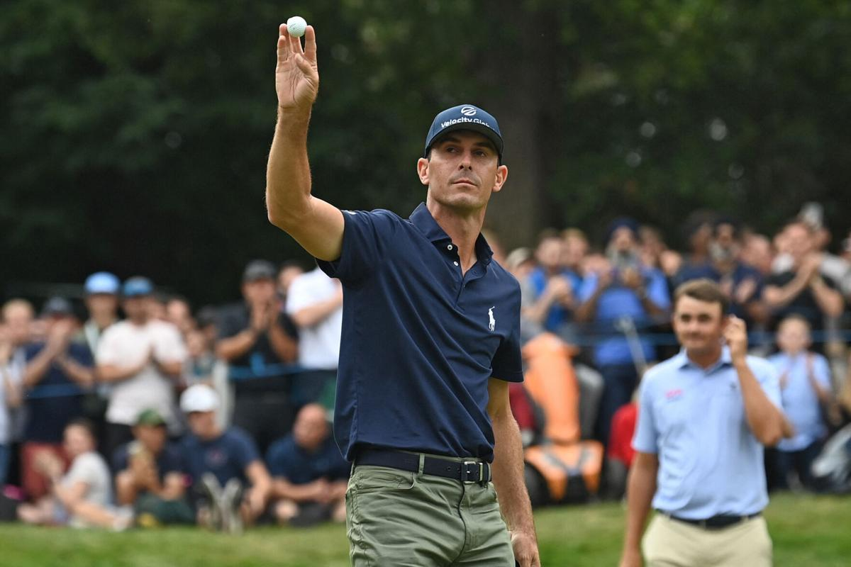 Billy Horschel wins BMW PGA Championship, becoming only the second American to win the famous event