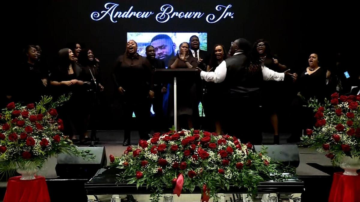 Funeral Held to Remember Life of Andrew Brown Jr and Call for Justice After He Was Fatally Shot by North Carolina Police