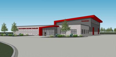 Rendering of the Ashland campus of Ranken Technical College