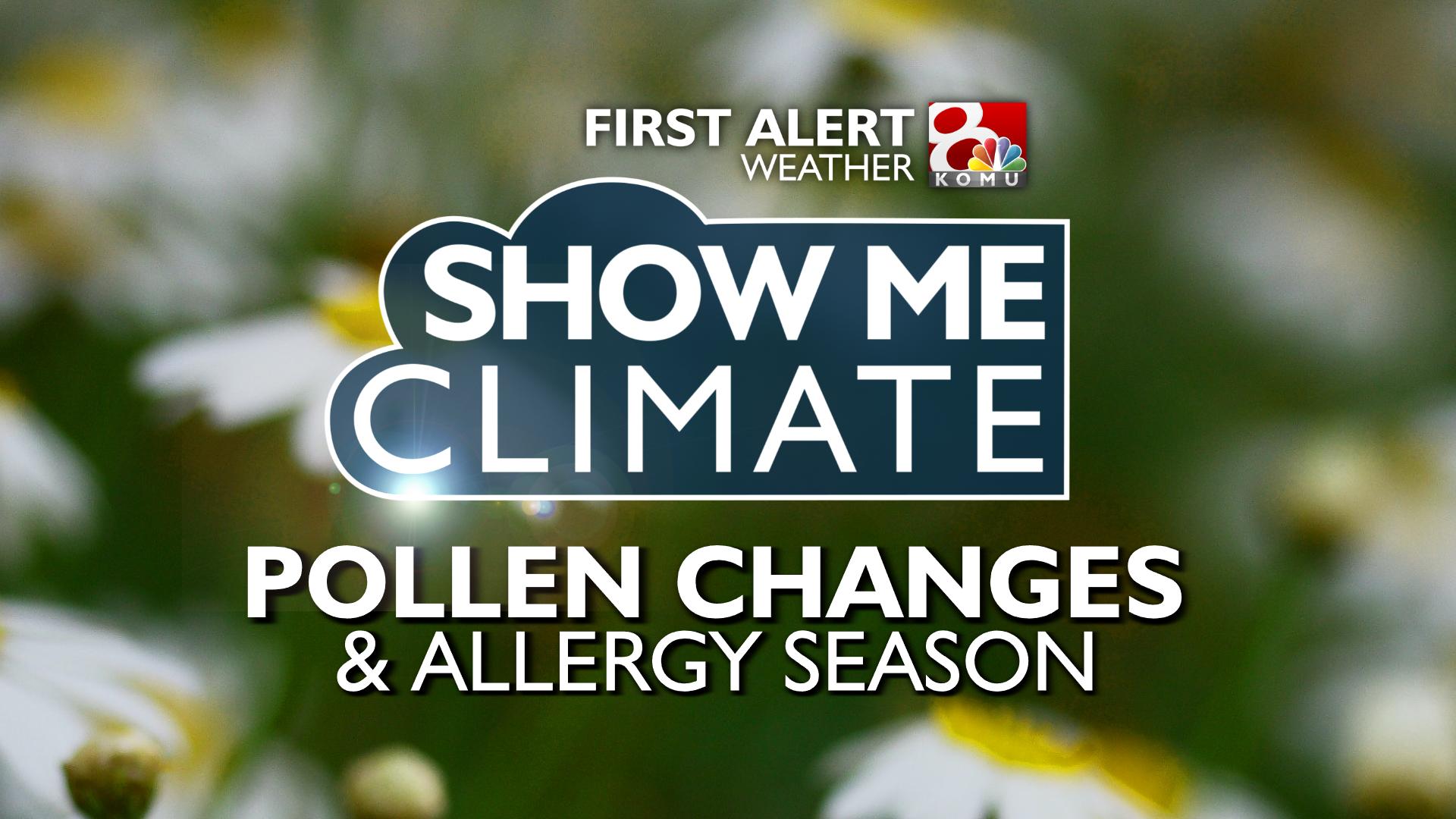 As temperatures rise, so do allergies