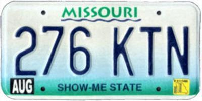 Missouri banned license plate list grows