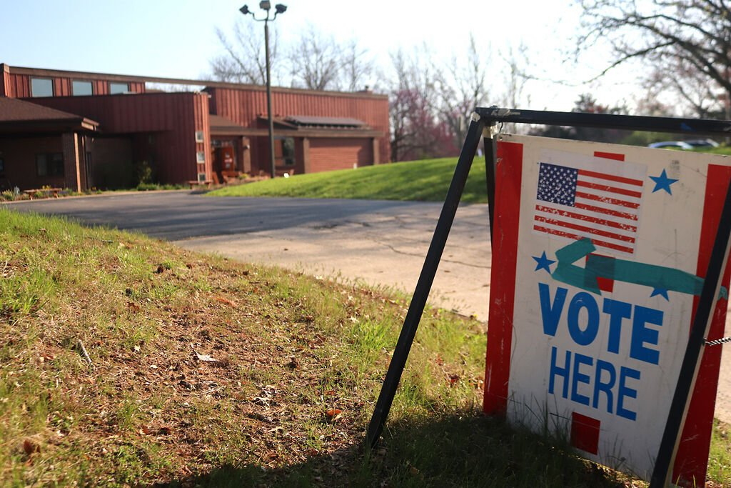 The Unitarian Universalist Church is open for voting