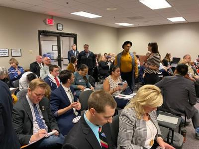 Resolution on transgender students in athletics drives people to Capitol