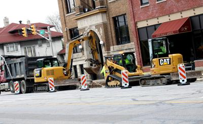 Streetscape work continues